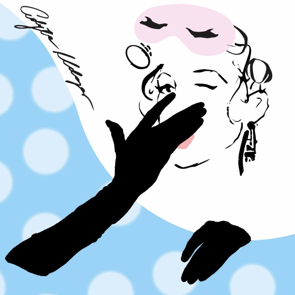 Ziewająca kobieta - Edyta Klaper