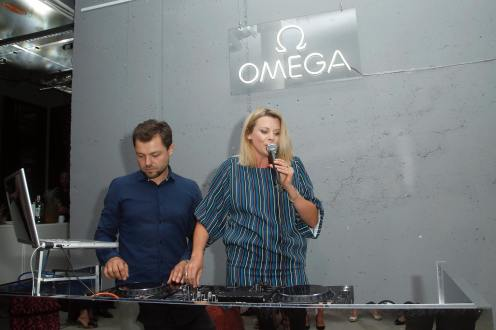Premiera modelu OMEGA Tresor, Maria Sadowska