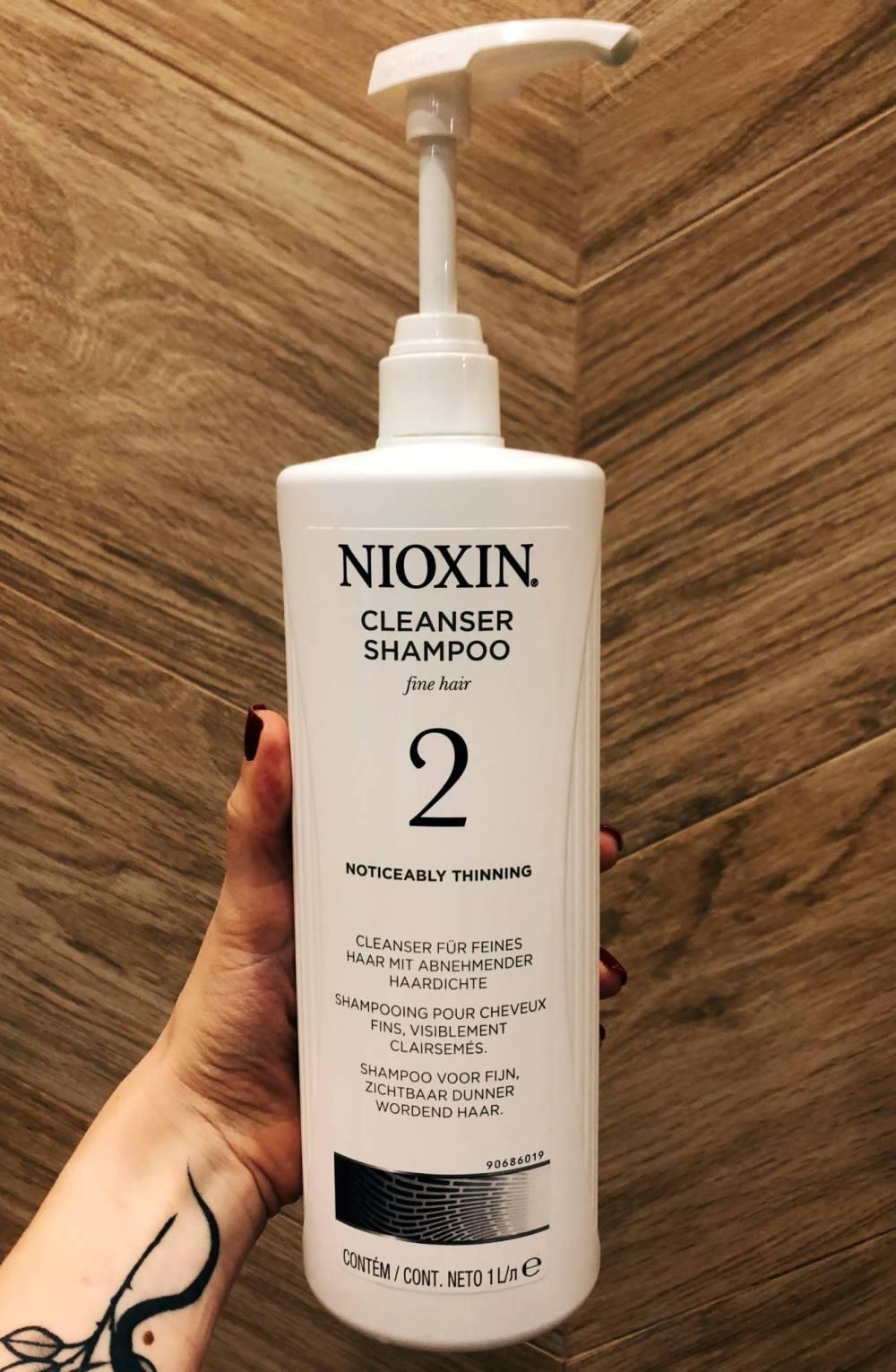 Nioxin Cleansing Shampoo 2 wesowow