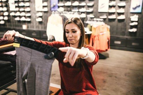 Agnieszka Wesolowska leggins Nike Pro SS 2019