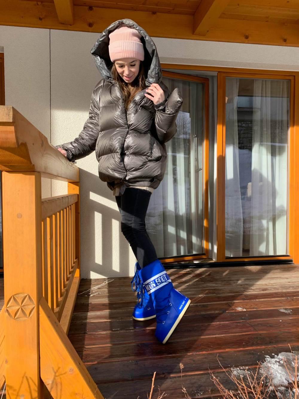 Agnieszka Wesolowska Zakopane Moon Boot niebieskie wesowow 2