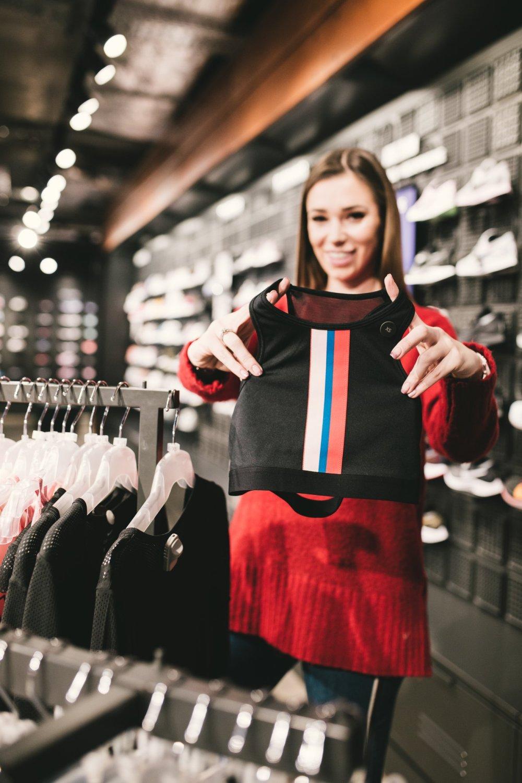 Agnieszka Wesolowska zakupy Nike For Pro SS 2019