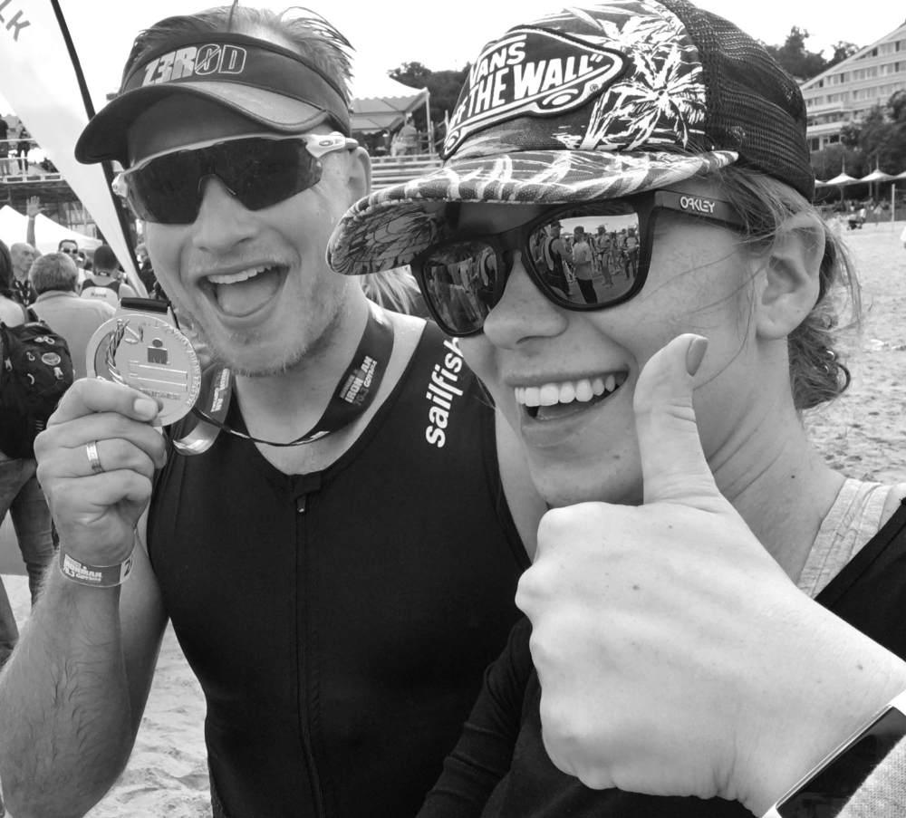 Kuba Wesolowski Agnieszka Wesolowska Triathlon Gdynia 2016 wesowow.jpg